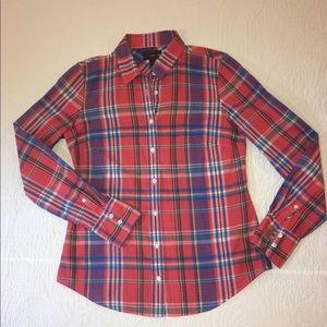 JCrew Perfect Shirt Sz 4